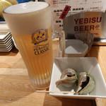Kihachi - ビールとお通し