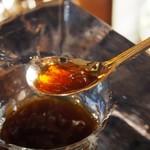 神戸にしむら珈琲店 - 氷の器のアイスコーヒー(氷がシャリシャリ)
