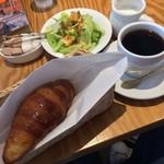 ナガハマコーヒー - モーニングB 580円
