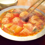 てけてけ - コク旨スープのトマト鍋