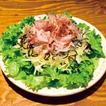 てけてけ - 塩昆布サラダ