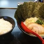 直壱家 - 醤油豚骨並+のり!!