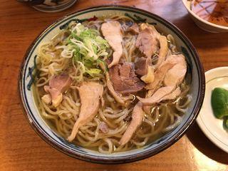 そば処吉亭 - 肉中華 ¥700