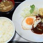 東京厨房 - 料理写真:ハンバーグ定食