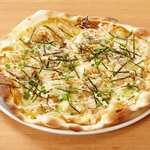 照り焼きチキンとマヨネーズのピザ