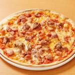 ザ「ミート・MEAT・肉」ピザ