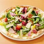 菜園風バーニャカウダーピザ