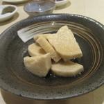 手打ち蕎麦 雷鳥 - 「長芋のわさび漬け」