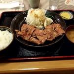 新サッポロ★食堂 - 生姜焼き定食。800円。