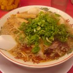 ラーメン魁力屋 - 海老ワンタン麺