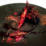 レストラン マノワ - 2018.9 あなごとフォアグラのフリット