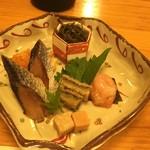 寿司海鮮 たはら - 1前菜