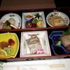 青山ガーデンリゾートホテルローザブランカ - 料理写真:+ 小鍋・天婦羅・赤だし・ご飯・フルーツというお任せコースです!