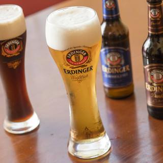 ドイツ直輸入!爽やかな味わい希少エルディンガー樽生ビール*