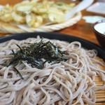 延寿亭 - ざるそばには季節の天ぷら付き