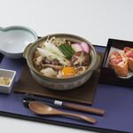 四季彩 ミズノ - 信州みそ煮込みうどん2500円