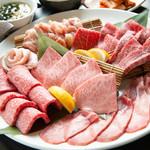 やきにく 飛牛 - 料理写真:期間限定の特別コースは、かなりのコスパと人気殺到!お1人様2,980円(税別)とリーズナブルに上質なお肉を☆
