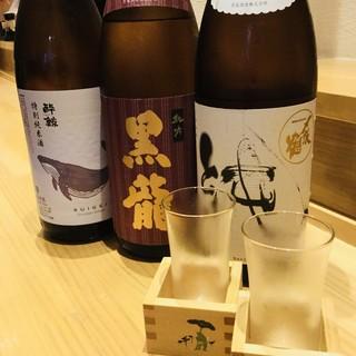 ◆〆張り鶴・ばくれん・酔鯨◆日本各地の地酒、勢ぞろい!