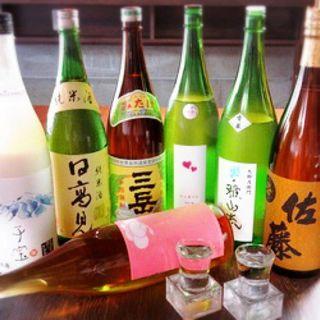 オススメの日本酒、焼酎♪大国オリジナルのサワーも◎