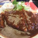 喜味屋食堂 - 洋風カツ丼