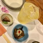 鮨 蟹 大助別亭 - 炊いた鮪と旬のきのこ