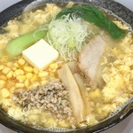 仙華園 - 料理写真:塩担々麺バターコーン