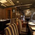 レストラン アロム - 内観写真