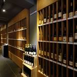 レストラン アロム - ワインセラー