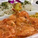 Blue Water Shrimp & Seafood - ガーリックシュリンプ(9尾)15ドル弱
