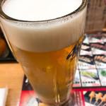 秋吉 - 生ビール 490円