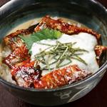 秋刀魚の蒲焼大和芋のせ