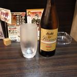 93480180 - 2018.9 アサヒの熟撰瓶ビール