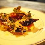 アルルの食堂 urura - 炙り秋刀魚といちじく、焼きなすの前菜