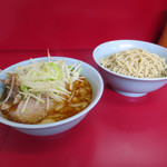 ラーメン二郎 - つけ麺(麺少なめ)