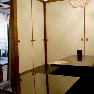 個室あります!気兼ねなく寛げる空間もご提供致します♪