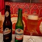 モロッコ料理カサブランカ - モロッコとレバノンのビール