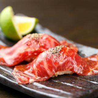 【数量限定!!】神戸牛の肉寿司登場♪
