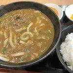 カレーうどん 得正 - カレーうどん定食¥800