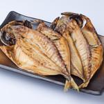 浜焼き しんちゃん - トロ鯵の干物    480円