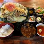 93483802 - きのこ天ぷら定食2000円