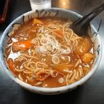 清水屋 - 料理写真:カレー南蛮蕎麦800円