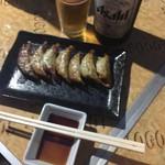 地鶏庵 - ユキちゃんのカリカリ餃子