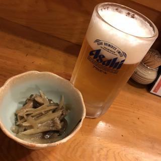 長崎の味処 鮨・割烹さくらい - 料理写真:まずは生ビール