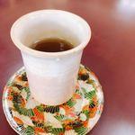 沙羅の木 - 黒豆茶。ほっこりする美味しさ。