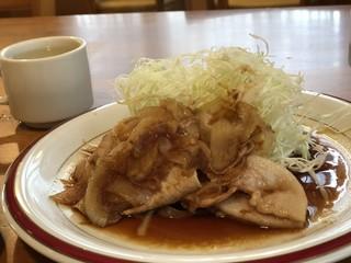 馬 - 生姜焼き