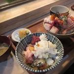 江戸富士 - 途中でご飯移転