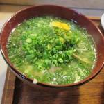 江戸富士 - 魚汁