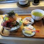 江戸富士 - 食べる前の準備