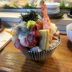 江戸富士 - 上海鮮丼