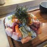 江戸富士 - 上バラ海鮮丼